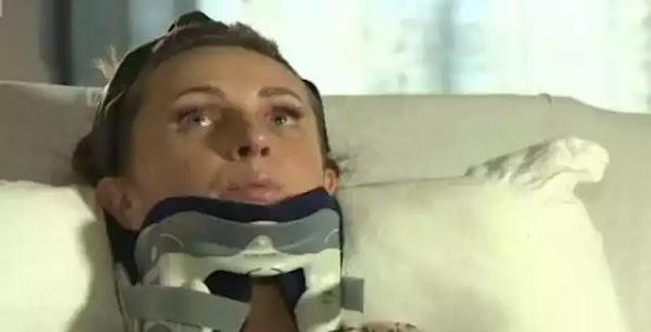 Βγήκε να πετάξει τα σκουπίδια και της έπεσε στο κεφάλι ένας καναπές