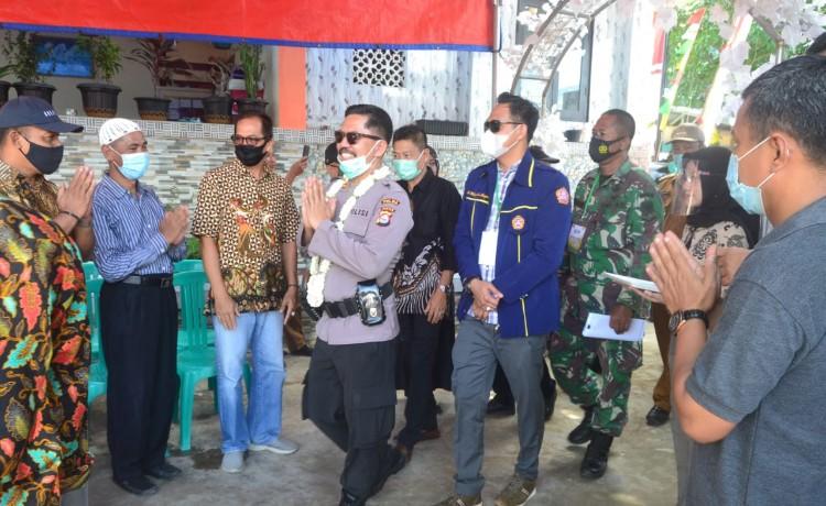Warga Desa Cikande Permai Sambut Juri Penilaian Lomba Kampung Tangguh Nusantara Kalimaya