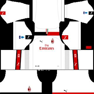 Ac Milan Dream League Soccer fts 2019 2020 DLS FTS Kits and Logo,Ac Milan dream league soccer kits, kit dream league soccer 2020 2019,Ac Milan dls fts Kits and Logo Ac Milan dream league soccer 2020