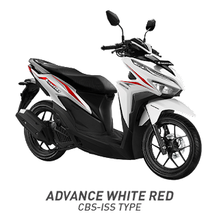 Vario 125 ESP CBS ISS - Sonic White Red  2018 Anisa Naga Mas Motor Klaten Dealer Asli Resmi Astra Honda Motor Klaten Boyolali Solo Jogja Wonogiri Sragen Karanganyar Magelang Jawa Tengah.