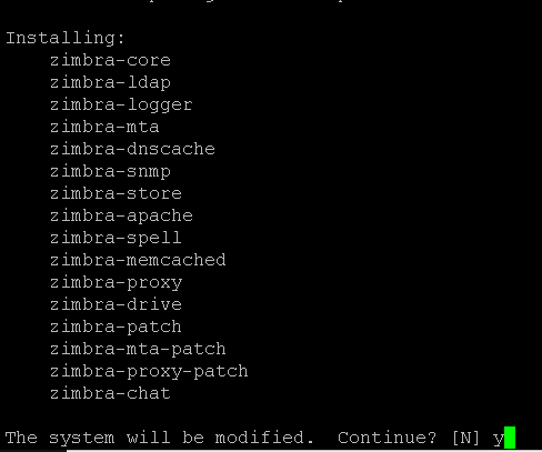 LoKoMurdoK: How to install Zimbra Collaboration Open Source