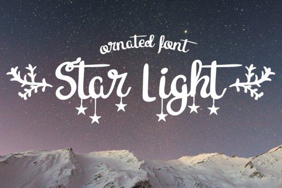 Star Light Font