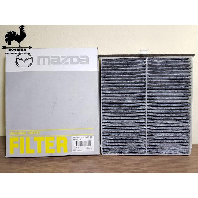 [Sỉ-Lẻ]Lọc gió điều hòa, máy lạnh xe Mazda 3, Mazda 6, Mazda CX5 (Mã: KD4561J6X)