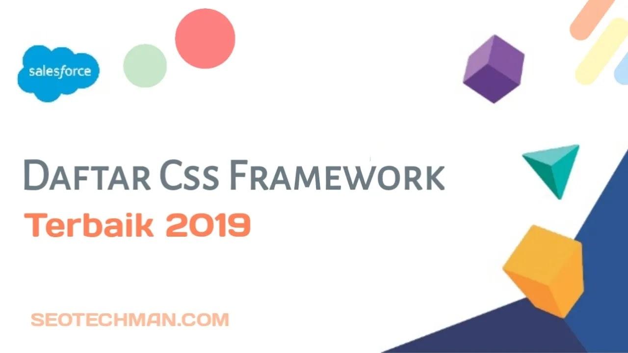 6 Daftar Css Framework Terbaik 2019 Ala Seotechman.com