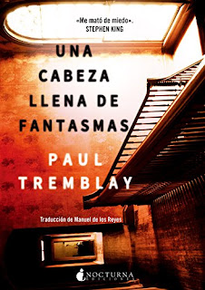 UNA CABEZA LLENA DE FANTASMAS DE PAUL TREMBLAY