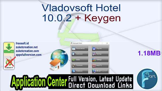 Vladovsoft Hotel 10.0.2 + Keygen