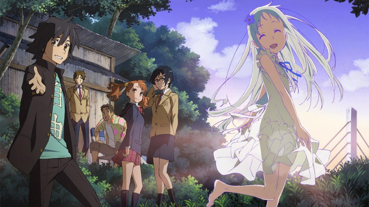 Review Anime ANOHANA  |  Penuh Kenangan Ketika Musim Panas Tiba