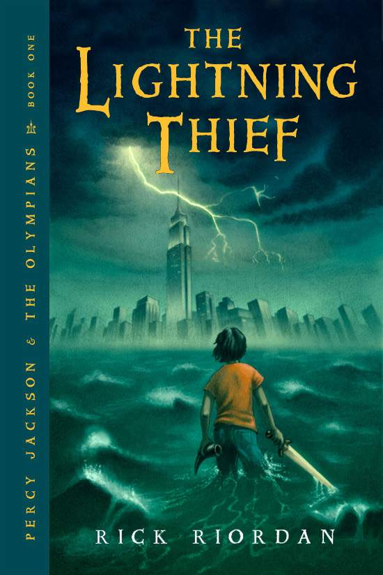Get Hooked on Books: The Lightning Thief by Rick Riordan