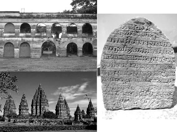 Gambar 5 bentuk peninggalan sejarah di Indonesia
