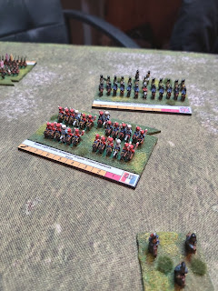Dutch cavalry are defeated by the Imperial Guard Lancers