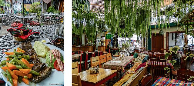 Onde comer em Panajachel: El Patio e Café Chinitas