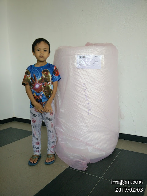 Air Bubble Wrap 10mm x 1meter x 100meter