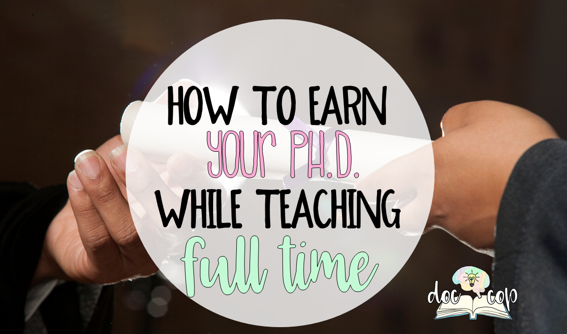 Earning your doctorate as a teacher has so many benefits, but it can be a challenge. Consider these 7 points from a teacher who earned her Ph.D. while teaching full time.