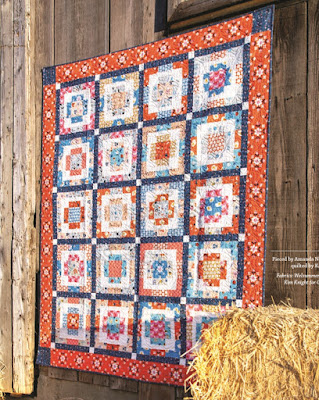 Rise and Shine quilt from the Playful Precut Quilts book by Amanda Niederhauser - post has a  link to the book