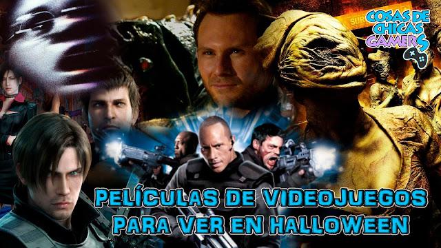 películas de videojuegos de terror para ver en halloween