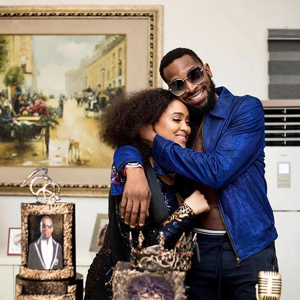 Love In The Air! D'banj And His Wife, Didi Lineo Celebrate Their 4th Wedding Anniversary #Arewapublisize