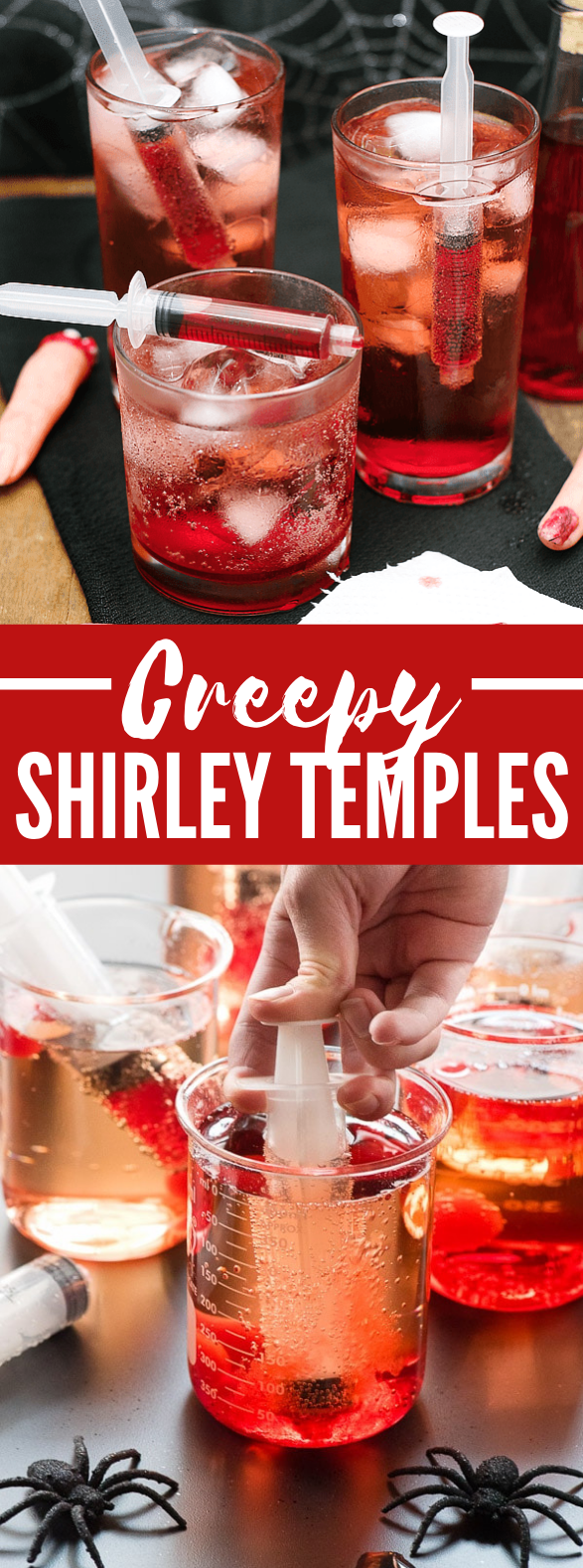 CREEPY SHIRLEY TEMPLES #drinks #nonalcoholic