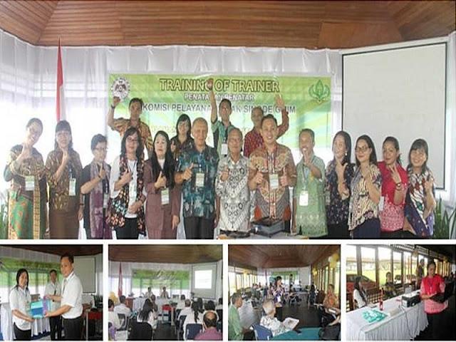 Komisi Pelayanan Anak (KPA) Sinode GMIM Gelar Pelatihan