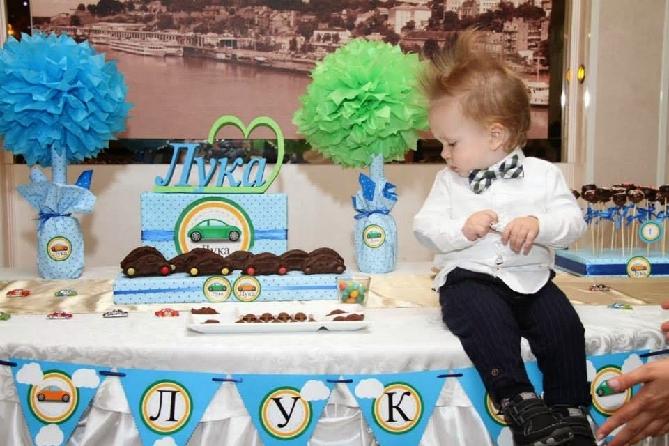 prvi rođendan ideje LUKA I AUTIĆI prvi rođendan ideje