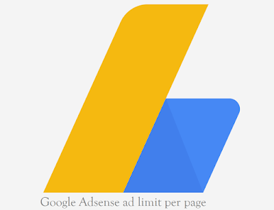 Google Adsense ad limit per page policy