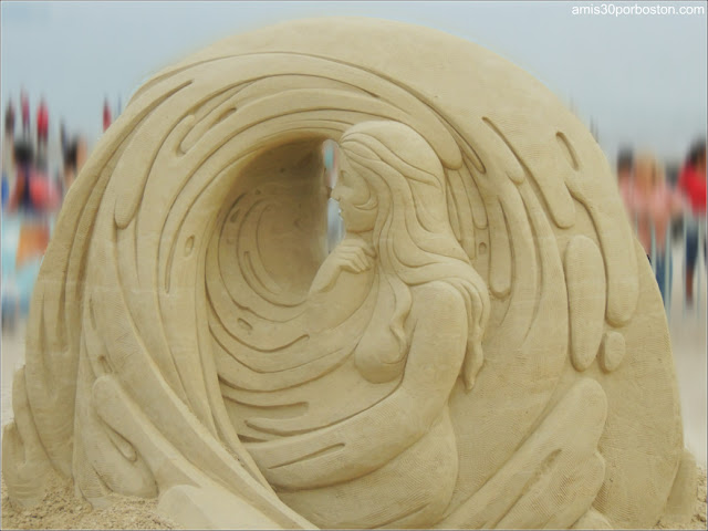 Esculturas de Arena de Revere Beach: Sue McGrew