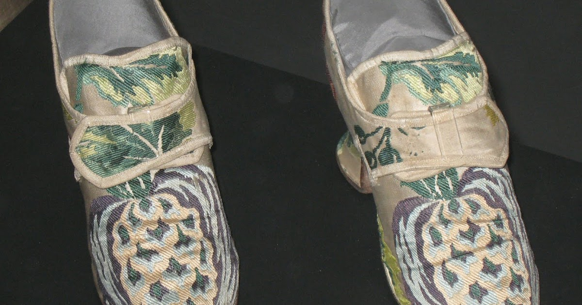 7bc0d35c35fc7 Two Nerdy History Girls: An Elegant Pair of Silk Shoes, c. 1735