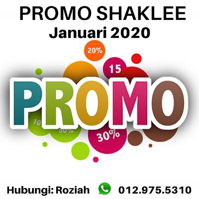 promosi shaklee januari 2020