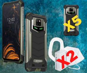 Enter To Win a DOOGEE S88Pro Phone + S88Pro Case And More!!  ( Worth Over : +$660)