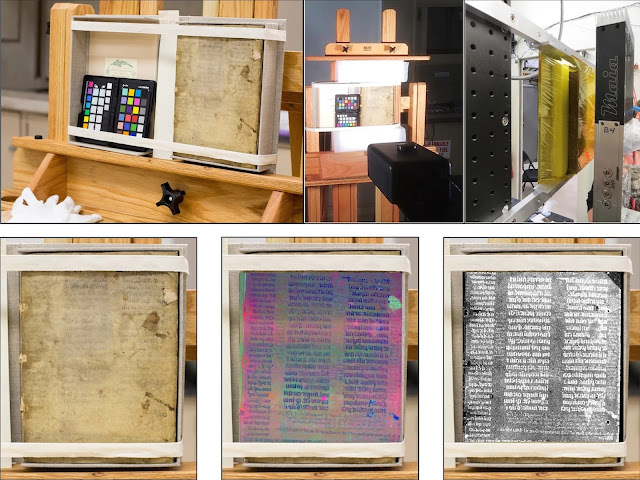 Fused imaging reveals sixth century Roman Law text in medieval book binding