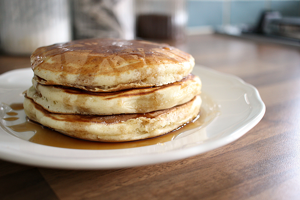Recipe fluffy american style pancakes