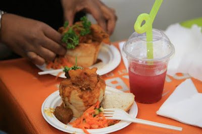 Hollywood Mini Mutton Bunny Chow - Taste Of Durban Festival 2015