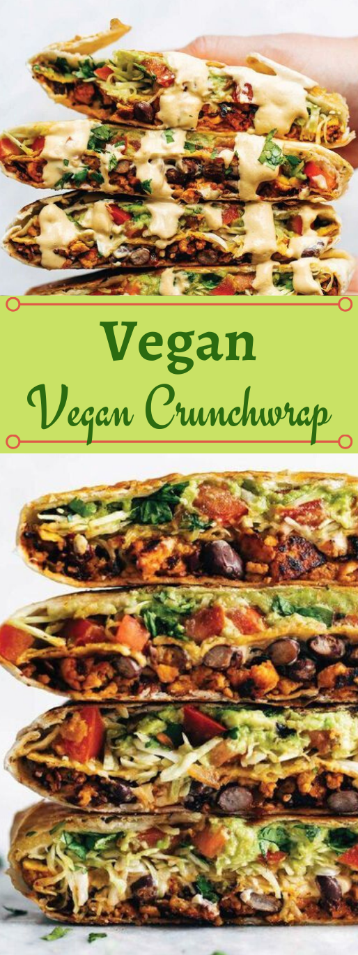 VEGAN CRUNCHWRAP #healthydiet #easy #recipes #vegan #paleo