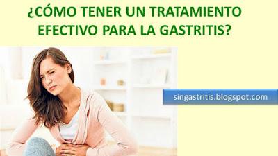 Tratamiento Efectivo para la Gastritis