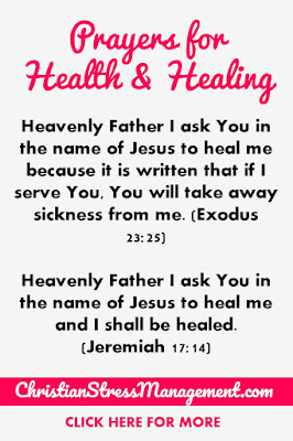 Prayers for Health and Healing