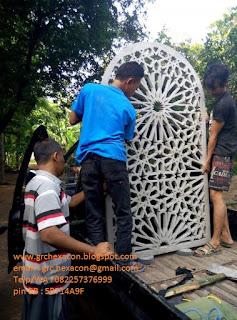 pengiriman krawangan masjid ke Jombang
