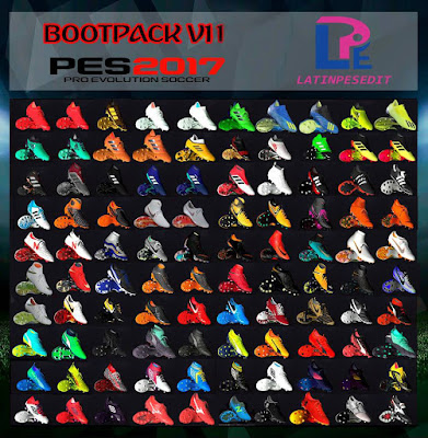 PES 2017 Bootpack Update v11 by LPE09