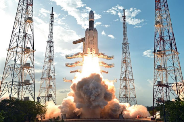 Image Attribute: Launch of India's heavy lift launch vehicle GSLV Mk-III on June 5, 2017 / Source: Indian Space Research Organization