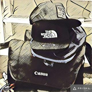 saiz backpack untuk travel