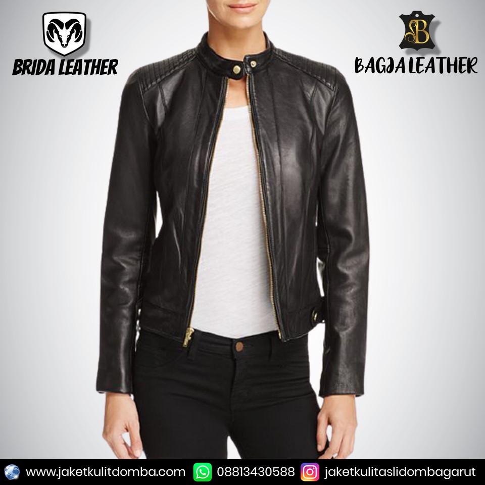 jaket kulit import pria