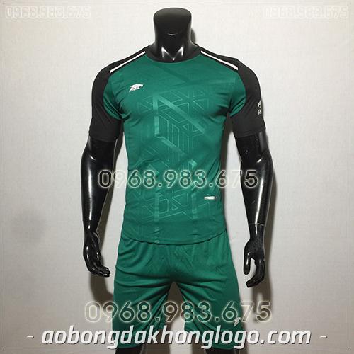 Áo bóng đá ko logo Eureka Raki màu xanh lá