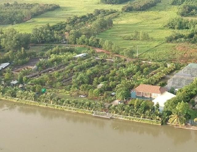 Đất View sông Bình Dương 9.000m2 giá chỉ 100 triệu đồng của bà Phạm Mai Hoa