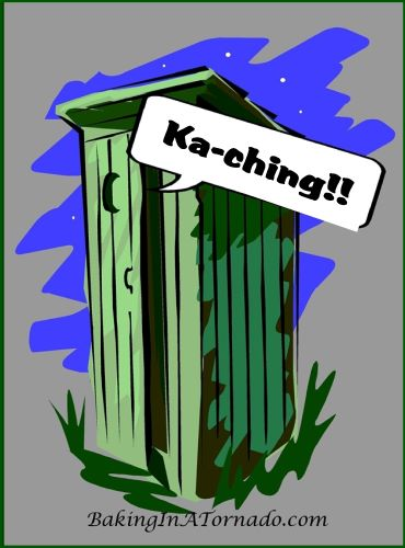 Return on Your Deposit | graphic designed by and property of www.BakingInATornado.com | #MyGraphics #humor