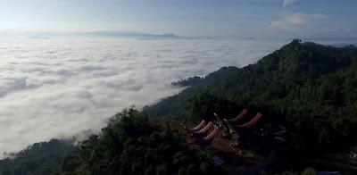 negeri di atas awan desa atau kampung Lolai