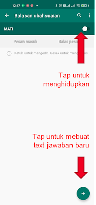 cara membuat jawaban otomatis di whatsapp