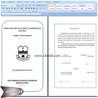 Download Contoh RKJM dan RKT Jenjang Sekolah Dasar (SD)