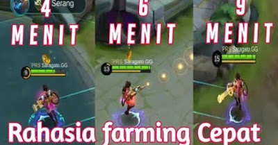 Cara Cepat naik Level Hero Mobile Legends