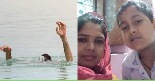 मंडी: मां आखिर मां होती है! अपने बच्चे को बचाने के लिए चेक डैम में कूद गई मां, आखिरी सांस तक की कोशिश