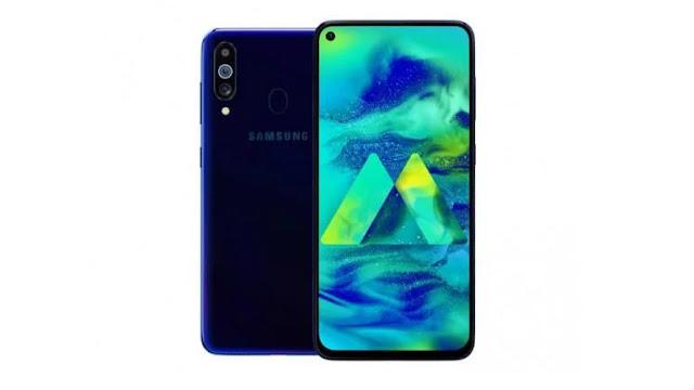 Samsung Galaxy M40 Renders