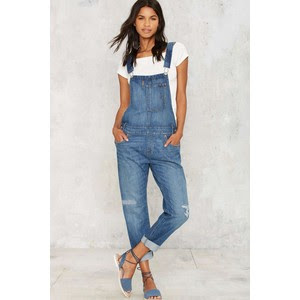 Heritage denim overalls, $128 from Levi's