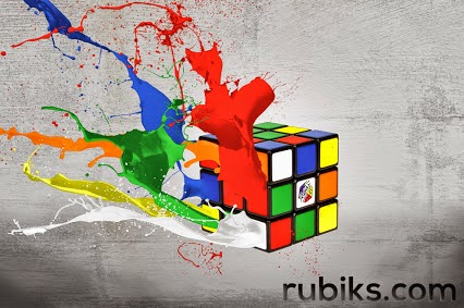 colorful rubiks cube